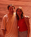 Ron and Janine in Antelope Slot Canyon, Arizona