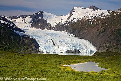 Portage Pass, Alaska.