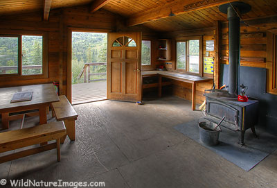 Juneau Lake Cabin, Chugach National Forest