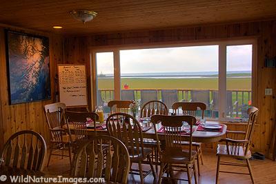 Silver Salmon Creek Lodge Dinning Room