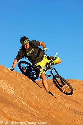 Mountain Bike wipeout