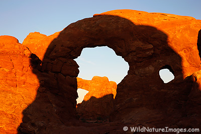 Turret Arch, Arches National Park, near Moab, Utah