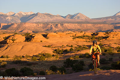 Slickrock Bike Trail, Moab, Utah.