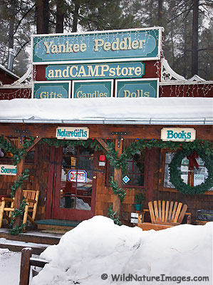The Yankee Peddler, Wrightwood, California.