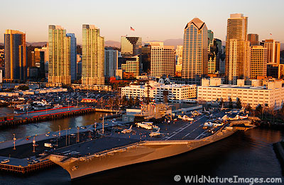 Downtown San Diego, California.