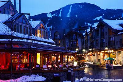 Whistler Village, Canada.