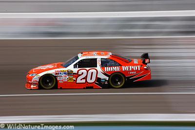 Joey Logano, Las Vegas NASCAR practice.