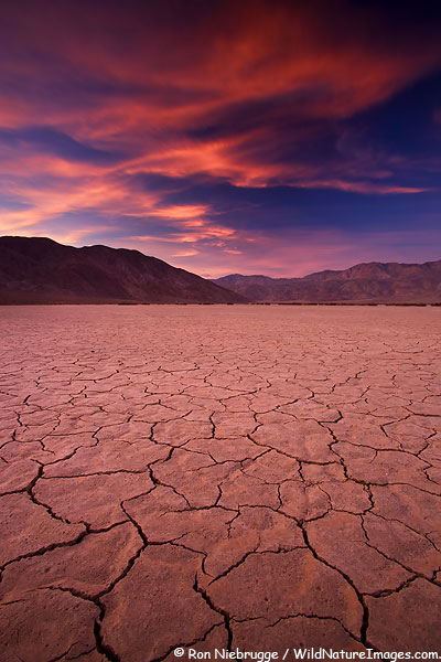 Dry Lake Bed, Anza-Borrego Desert State Park, California.
