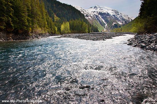 Paradise Creek, Kenai Fjords National Park, Alaska.