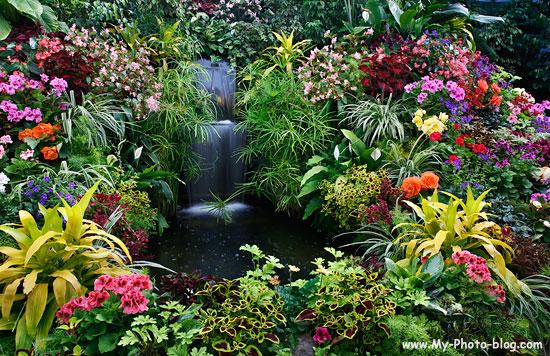 Butchart Gardens, Victoria, Canada.