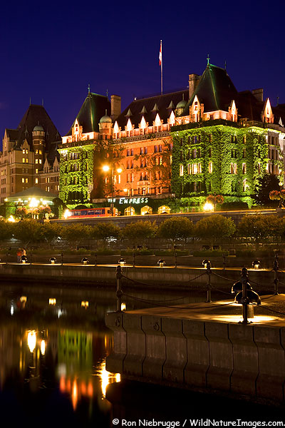 Empress Hotel, Victoria, British Columbia, Canada.