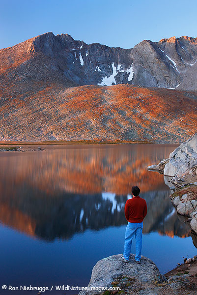 Summit Lake, Mount Evans, Colorado.