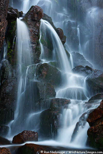 Timberline Falls, Rocky Mountain National Park, Colorado.