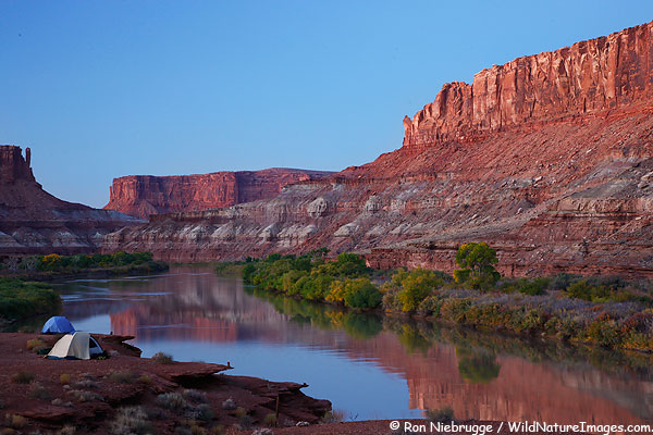 The Green River from the White Rim Trail, Canyonlands National Park, Utah.