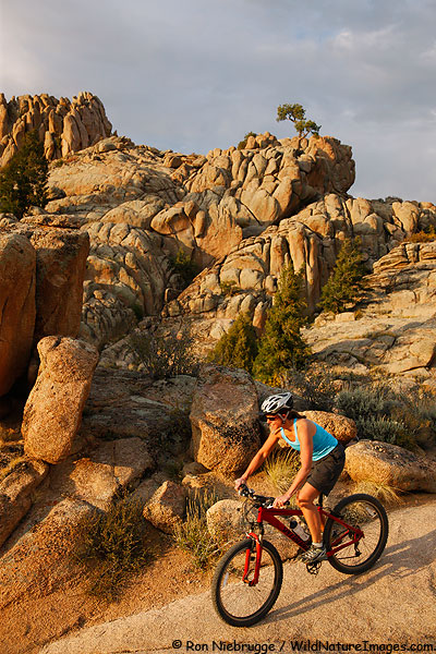 Hartman Rocks Mountain Biking Trails, Gunnision, Colorado.