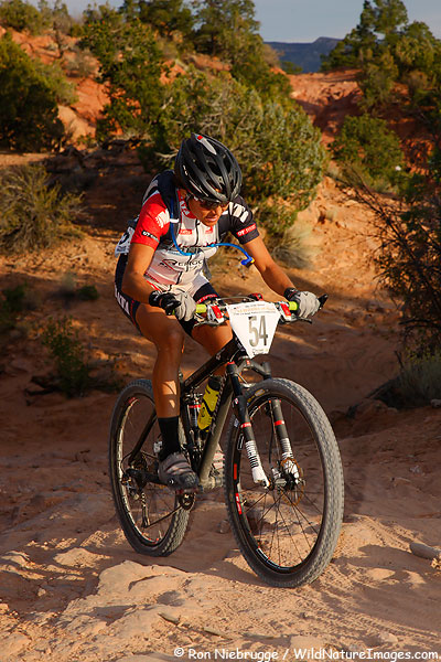 Pua Sawicki at the 2009 24 Hours of Moab.