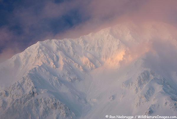 Resurrection Peaks, Chugach National Forest, near Seward, Alaska.