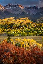 Sneffels Range, San Juan Mountains, Colorado.