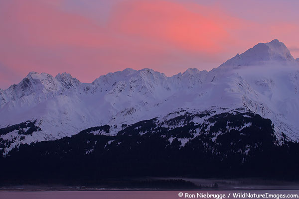 Alaska Mountain Sunrise