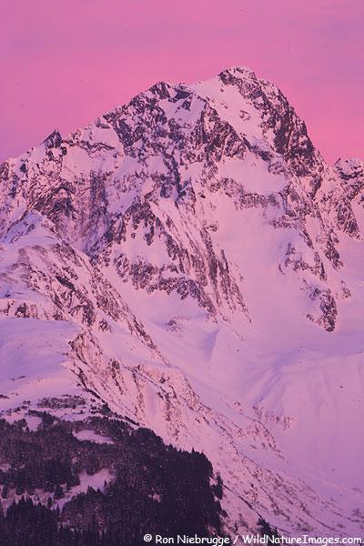 Mt. Alice, Chugach National Forest, Seward, Alaska.