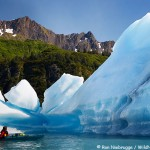 Kayaking in Bear Glacier Lagoon