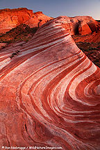 Wave formation, Valley of Fire State Park, Nevada.
