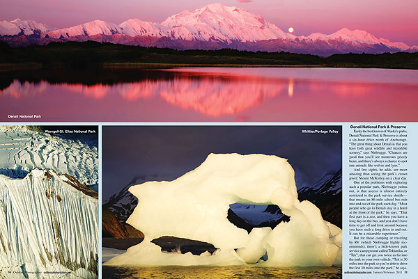 Outdoor Photographer feature pages 3 and 4.