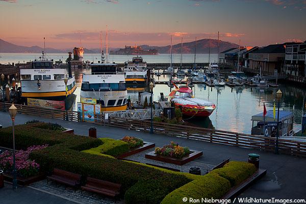 Along the wharf, San Francisco, California.