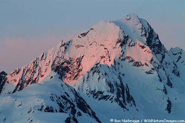 Mt. Alice, Chugach National Forest, Seward, Alaska.