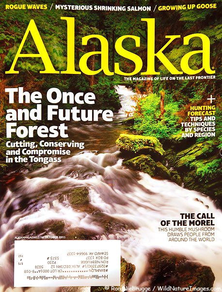 Cover of the October, 2011 Alaska Magazine!