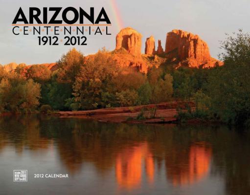 2012 Arizona Calendar.