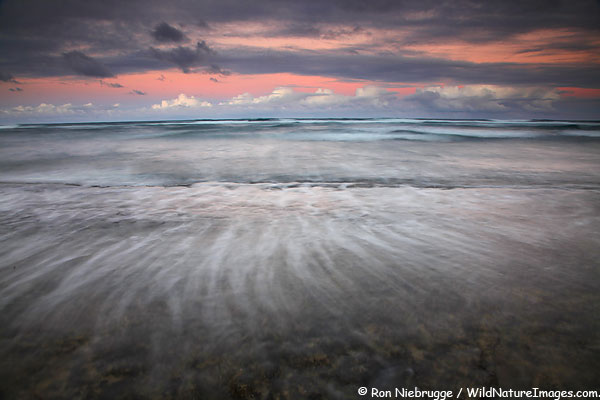 Nukoli'i Beach, Kauai, Hawaii.