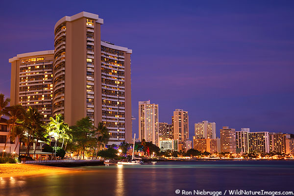 Waikiki, Honolulu, Hawaii.