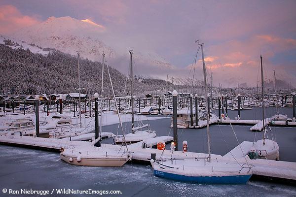 Seward Boat Harbor, Seward, Alaska.