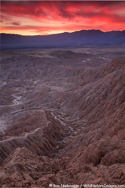 Fonts Point, Anza-Borrego Desert State Park, California.