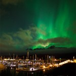 Seward Boat Harbor and Aurora