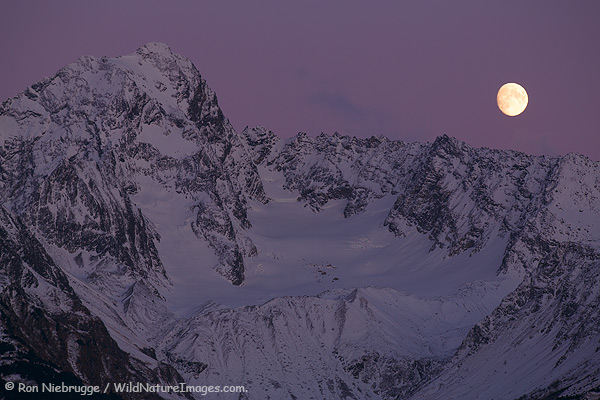 Chugach Moonrise