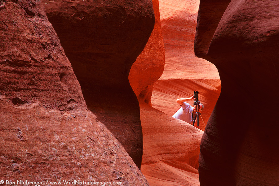 One of a number of slot canyons we will photograph - this one exclusively!