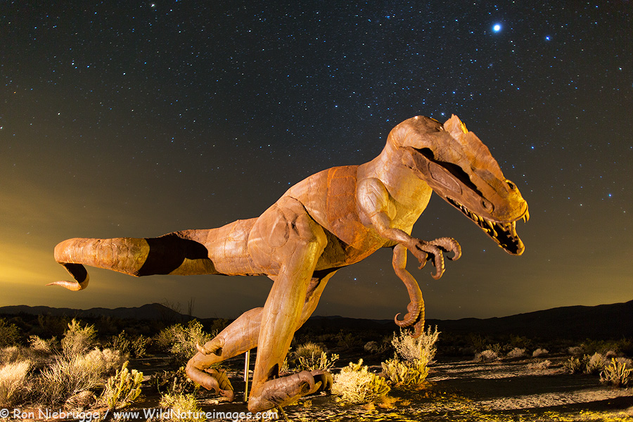 Sculpture, Borrego Springs, California.