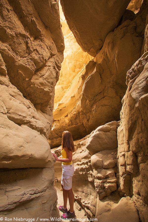 slot canyon california anza borrego