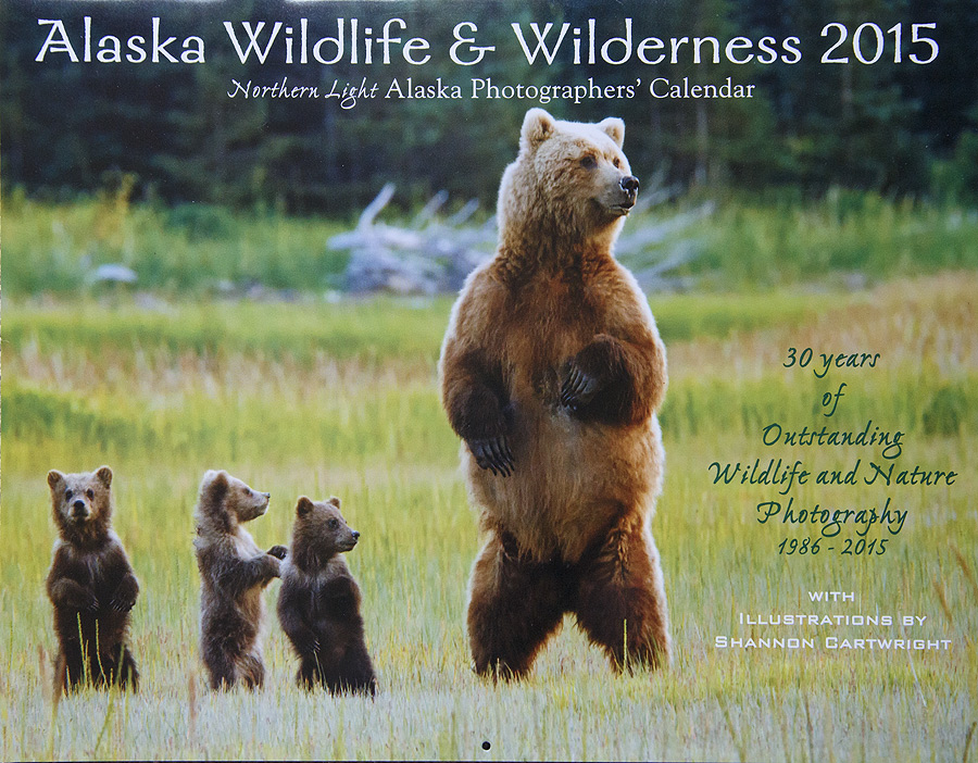 Greatland Graphics Alaska Wilderness and Wildlife Callender for 2015.