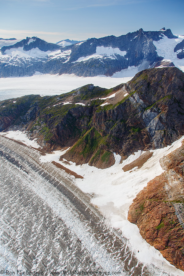 Herbert Glacier, Tongass National Forest, Alaska.