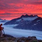 Mendenhall Glacier Sunrise