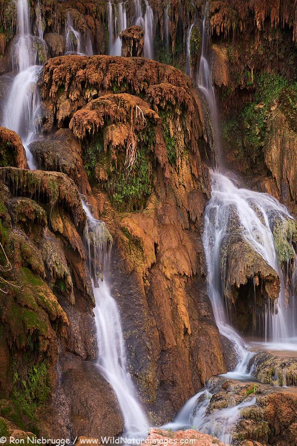 Upper Navajo Falls, Grand canyon, Arizona.