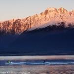 Water Skiing Alaska Style