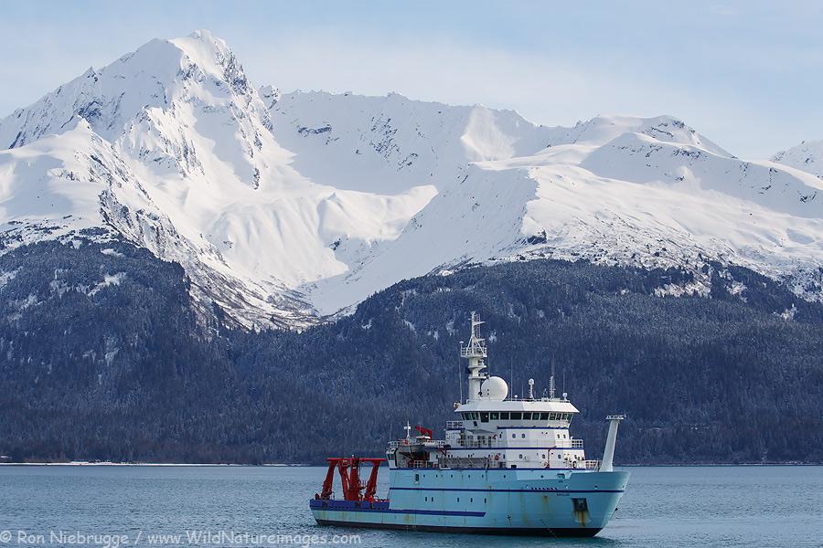 M/V Sikuliaq, Seward, Alaska.