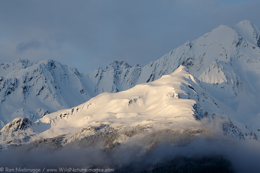 Mt Alice, Chugach National Forest, Alaska.