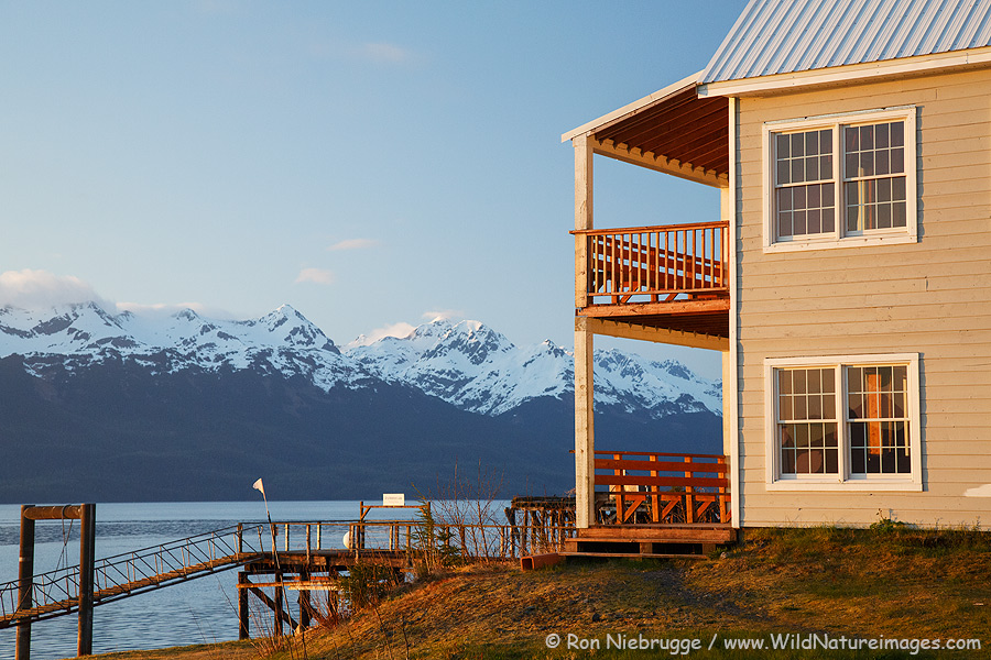 Orca Adventure Lodge, Cordova, Alaska.
