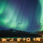 Aurora over Seward Campground