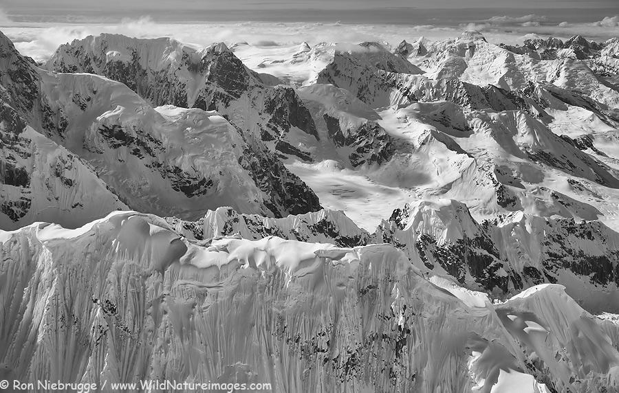 Alaska Range, Denali National Park, Alaska.